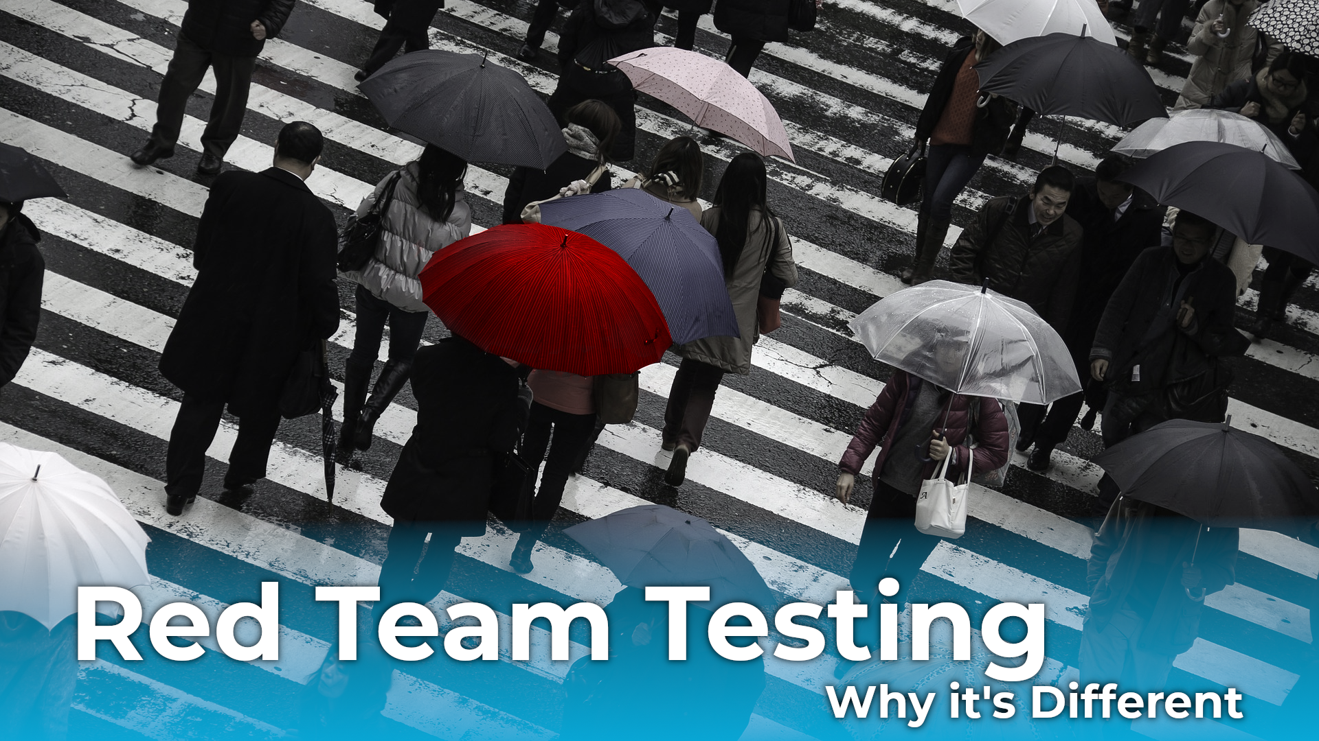 Penetration Testing is not Red Team Testing