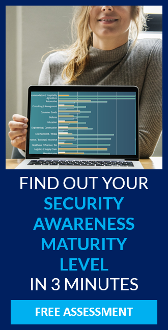 FIND OUT YOUR SECURITY AWARENESS MATURITY LEVEL IN 3 MINUTES