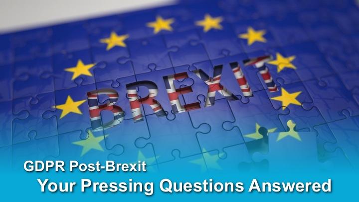 GDPR Post Brexit