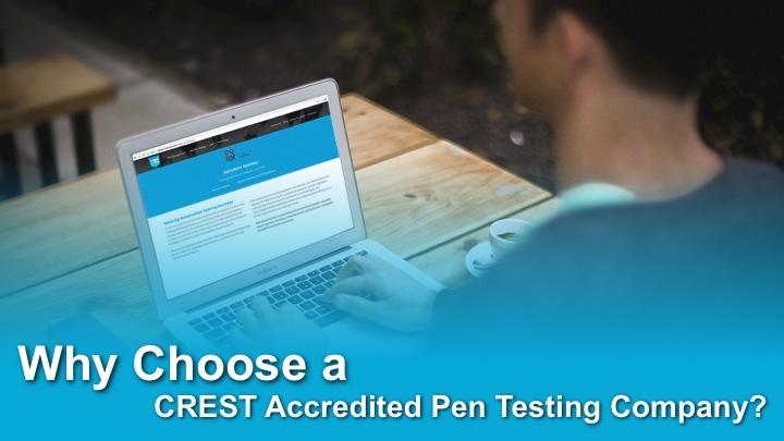 CREST Pen Testing