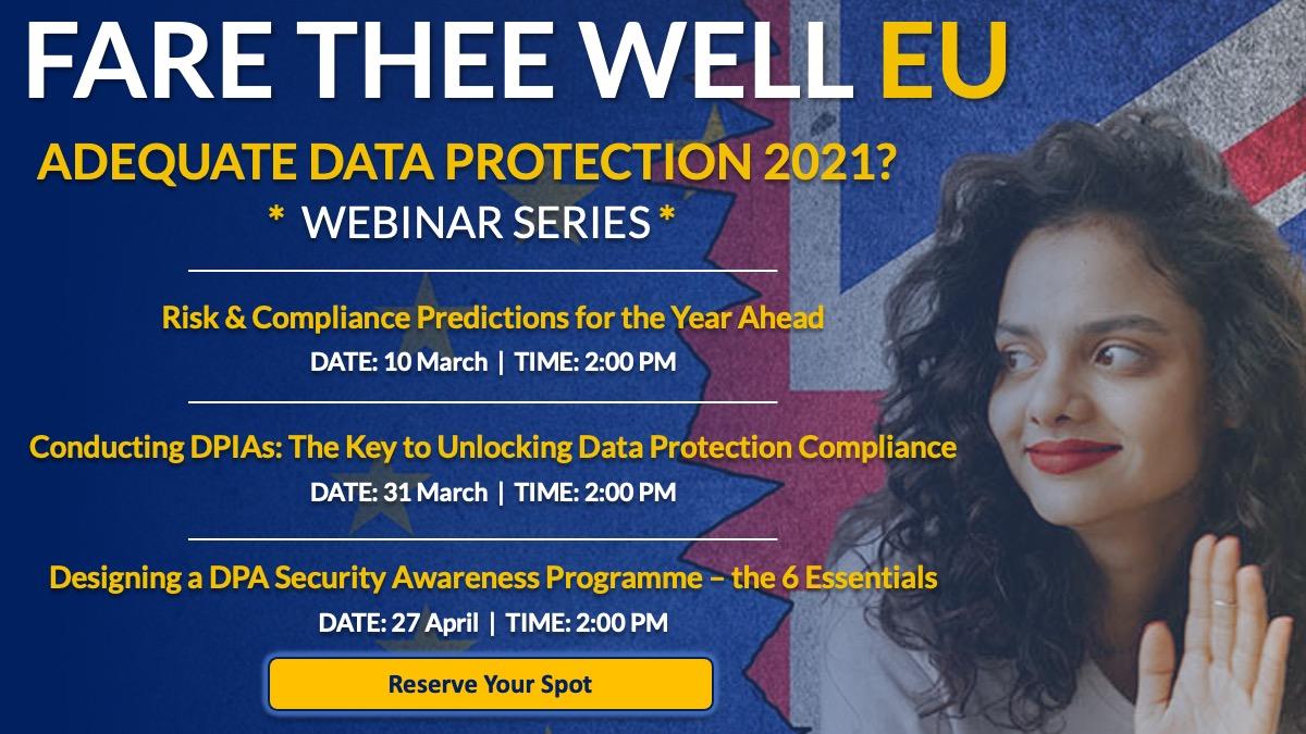 Data Protection Webinars
