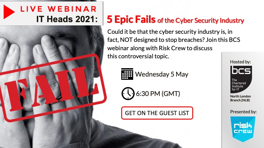 5 Epic cybersecurity Fails