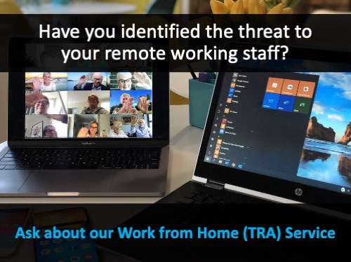 Working from Home Risk Management